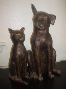 Brannock Vets statues