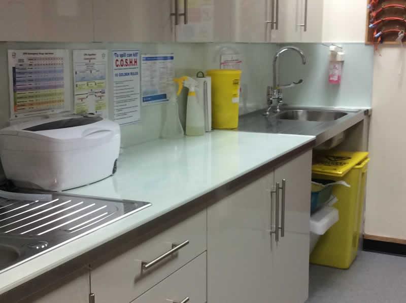 Prep Room Brannock Vet Clinic Motherwell