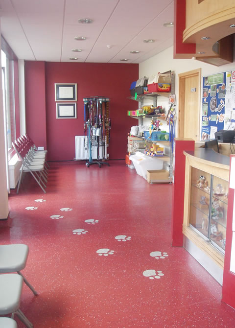 Brannock Vets Motherwell reception